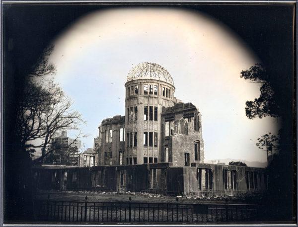 The Atomic Bomb Dome No.1  Hiroshima, Daguerreotype, unique, 19.3 x 25.2 cm ©Takashi Arai