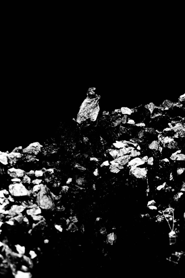 Laying Stones, gelatin silver print : 2015, 11x14 in, edition of 5, 001 ©Munemasa Takahashi