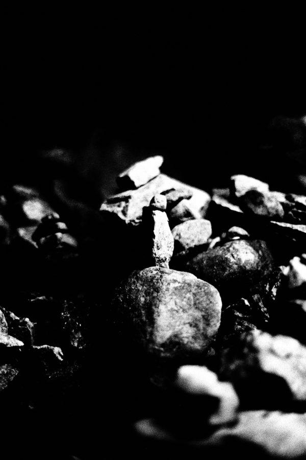 Laying Stones, Gelatin silver print : 2015, 11x14 inches, edition of 5, 002 ©Munemasa Takahashi