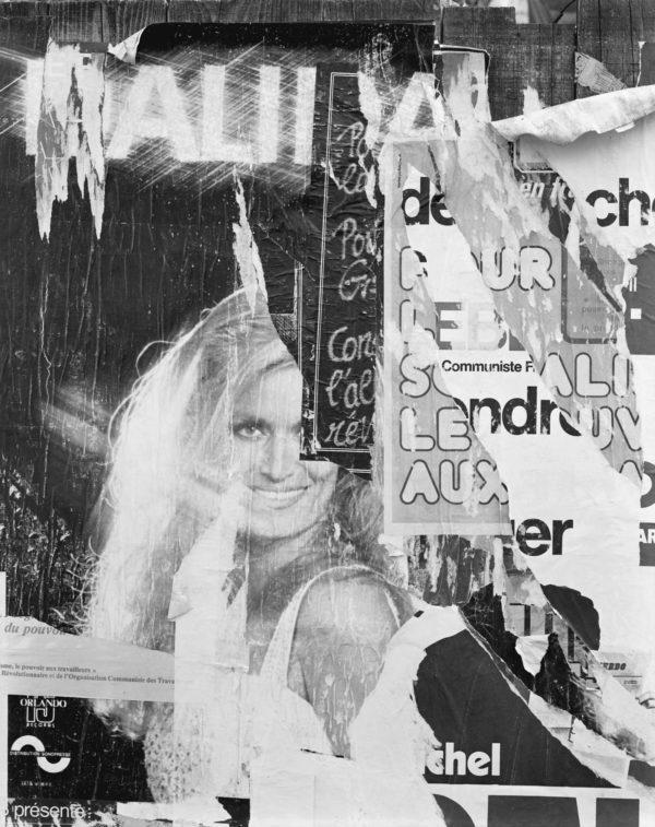 Rue du Chateau  Paris  1977, Gelatin Silver Print ©Naohisa Hara
