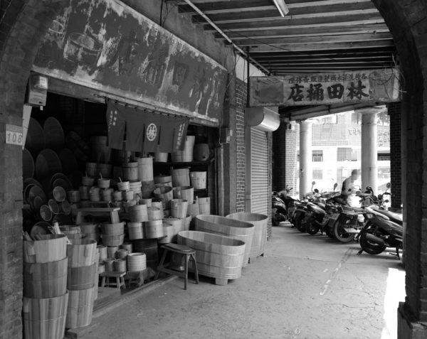 Zhongshan North Road  Taipei  2005, Platinum Palladium Print ©Naohisa Hara