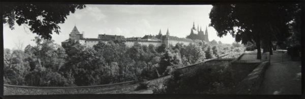 Prague Panorama, ca. 1950-55, gelatin silver print, 120 x 320 mm, ©Josef Sudek