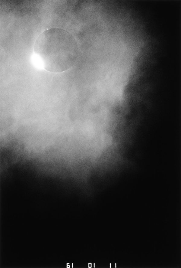 The Last Eclipse of the Sun, Diamond Ring, 1988, gelatin silver print : 1989, 16 x 20 in ©Kikuji Kawada