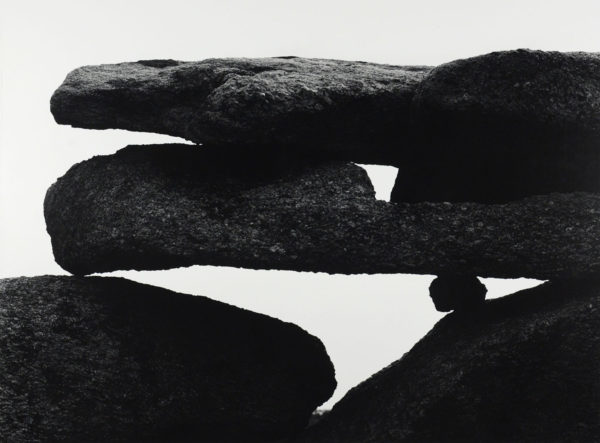 Martha's Veneyard, 1954, gelatin silver print, 16x20 inches ©Aaron Siskind Foundation