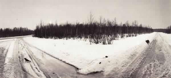 Panajärvi, Karelia, 1992, gelatin silver print, 7 1/2 x 10 in ©Pennti Sammallahti