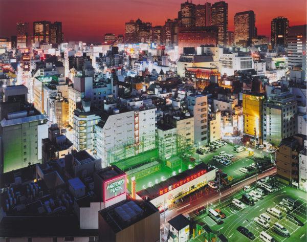 Kabuki-Chi, Shinjuku-ku, 2007, chromogenic print : 2008, limited edition of 25, 16 x 20 in ©SATO Shintaro