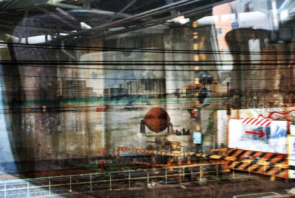 Arakawa  Tokyo  2007, pigment inkjet print : 2012, limited edition of 5, 329x483mm ©Kikuji Kawada