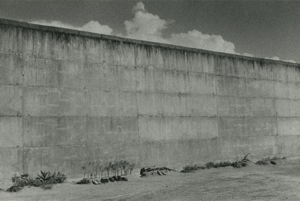 Domains, Within the Walls, gelatin silver print : 1957 / 1997, 16x20 in ©Narahara Ikko Archives