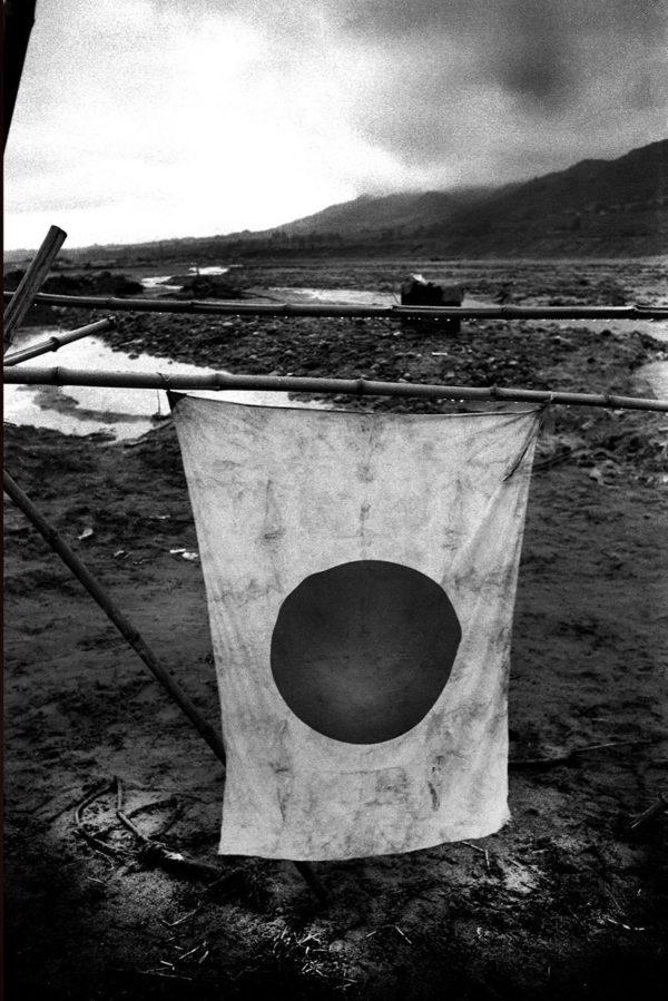 After Typhoon, Kitakomagawa River, 1959, digital pigment print : 2008, limited edition of 5, 330x500mm ©Kikuji Kawada