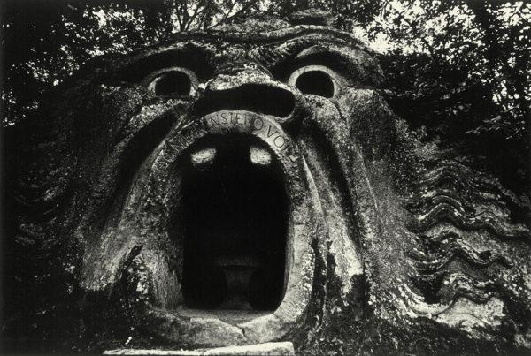 The Door of Inferno, Viterbi, Italy, 1966, gelatin silver print : 1969, 201x302mm ©Kikuji Kawada