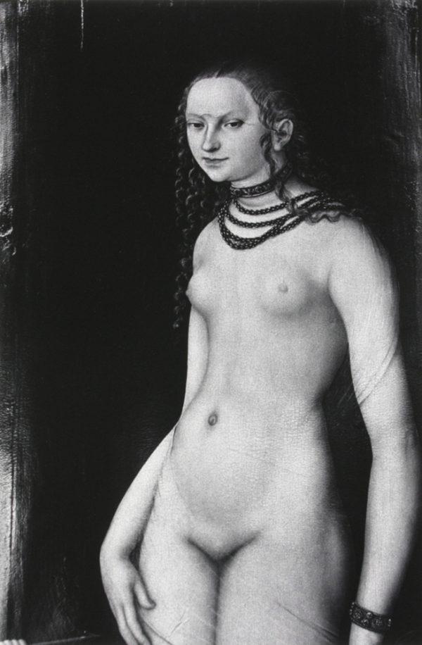 Lucas Cranach, Venus and Amor, gelatin silver print : 1980's, 450x299mm ©Kikuji Kawada<br />