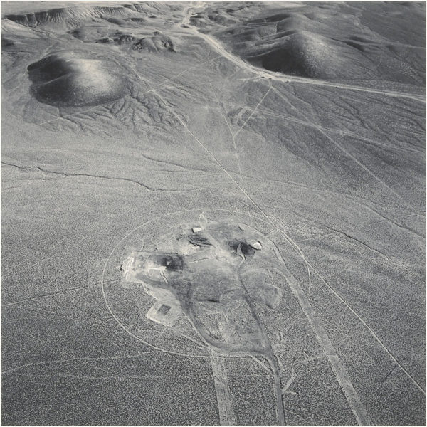 Area10  Looking East  Nevada  1996, gelatin silver print, 16 x 20 in ©Emmet Gowin