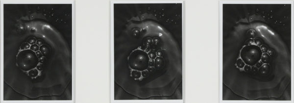 Bubbles of Water bbb. M223A, M224, M224A,  2004, gelatin silver print, 8x10in limited edition of 9 ©Yoshihiko Ito