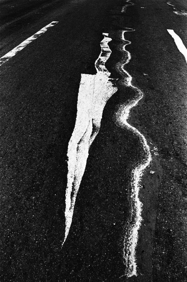 On Melting Asphalt  1978,   Archival Pigment Print:2017,   limited edition of 5,   420x594mm,   ©Kikuji Kawada