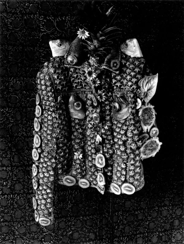 Pineapple jacket,   gelatin silver print:2018,   16x20 in,   limited edition of 15,   ©Michiko Kon