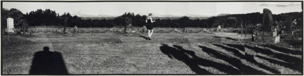 Shadow・II,  2005, gelatin silver print on watercolor paper with glue, 278×1120mm limited edition #1/1 ©Yoshihiko Ito