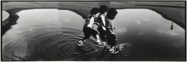 M・K-1・II,  2005, gelatin silver print on watercolor paper with glue, 155×470mm limited edition #1/1 ©Yoshihiko Ito