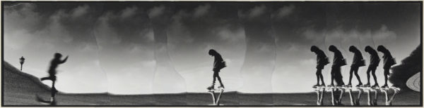 M・K-10・II,  2005, gelatin silver print on watercolor paper with glue, 155×615mm limited edition #1/1 ©Yoshihiko Ito