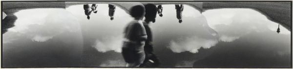 M・K-3・II,  2005, gelatin silver print on watercolor paper with glue, 155×667mm limited edition #1/1 ©Yoshihiko Ito