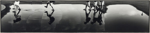 M・K-4・II,  2005, gelatin silver print on watercolor paper with glue, 155×710mm limited edition #1/1 ©Yoshihiko Ito