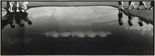 M・K-8・II,  2005, gelatin silver print on watercolor paper with glue, 155×434mm limited edition #1/1 ©Yoshihiko Ito