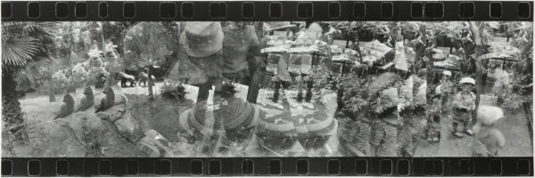Window・I  1999, Gelatin silver print on watercolor paper with glue, 240×722mm, limited edition: #1/1 ©Yoshihiko Ito