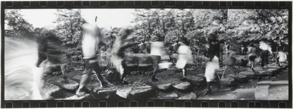 Park・II  1999-2000, Gelatin silver print on watercolor paper with glue, 272×743mm, limited edition: #1/1 ©Yoshihiko Ito