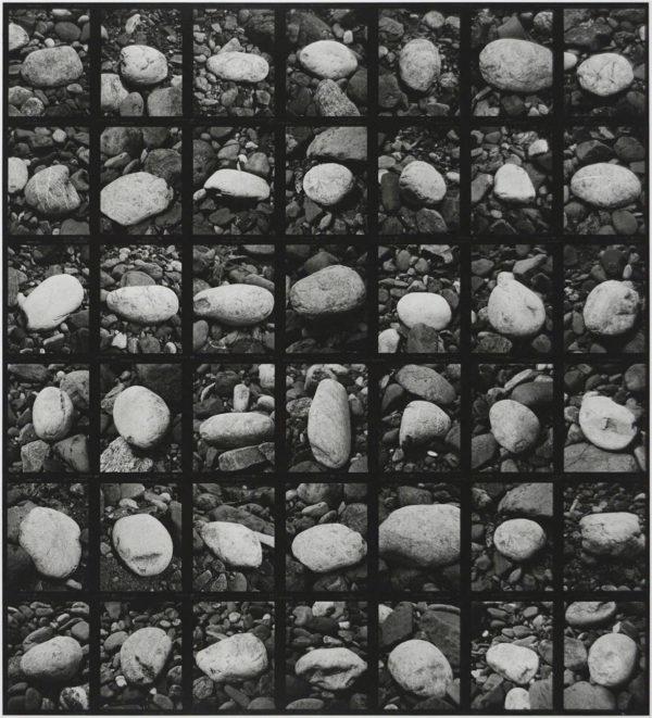 石と石と石  1998, Gelatin silver print, Limited edition of 4, 11x14 in, ©Yoshihiko Ito