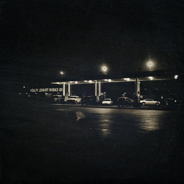 2012年11月16日 ガソリンスタンド, タルサ, アメリカ,  ダゲレオタイプ,  unique,  6.3 x 6.3 cm ©Takashi Arai