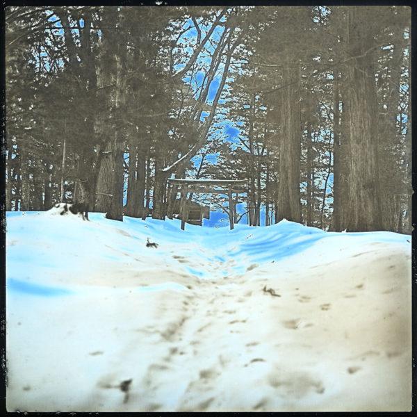 2013年2月19日 早池峰,  ダゲレオタイプ,   unique,   6.3 x 6.3 cm ©Takashi Arai