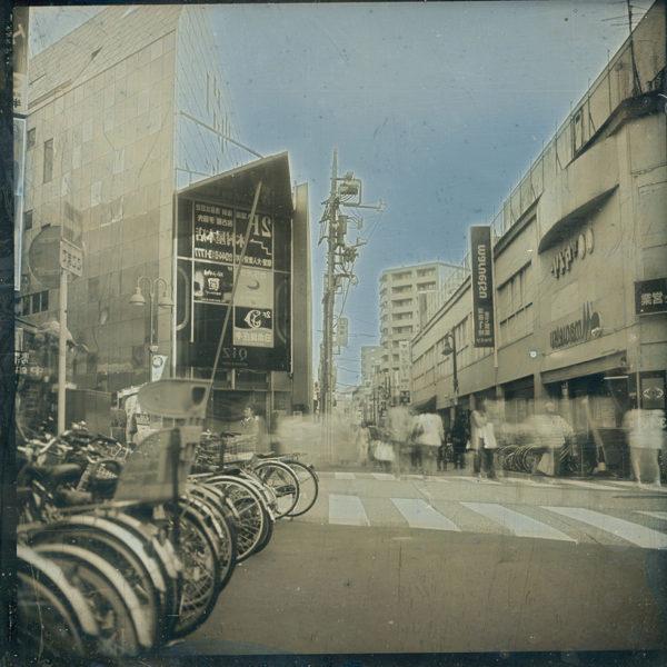 2013年5月17日,  ダゲレオタイプ,   unique,   6.3 x 6.3 cm ©Takashi Arai