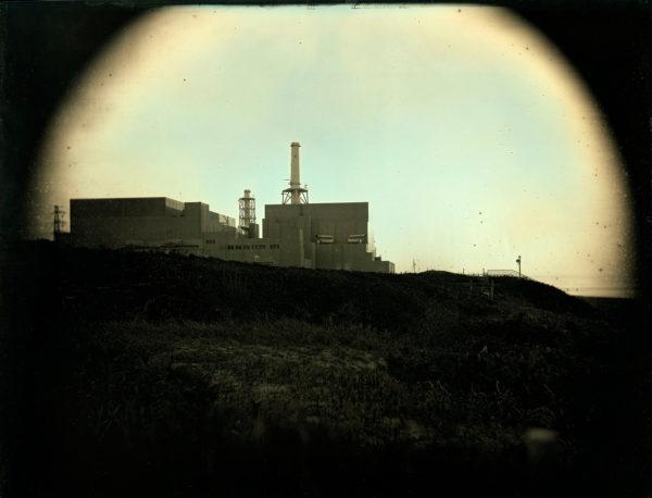 2011年4月10日  浜岡原発, ダゲレオタイプ, unique, 19.3 x 25.2 cm ©Takashi Arai