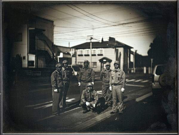 2014年1月4日  消防隊の出初式  南相馬原町, ダゲレオタイプ, unique, 19.3 x 25.2 cm ©Takashi Arai