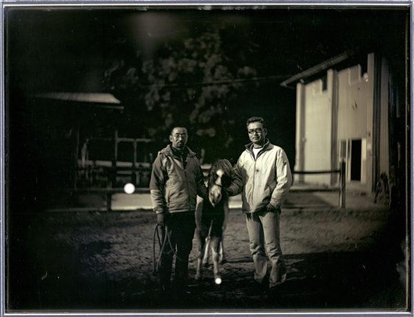 2012年1月18日  相馬ポニー牧場  原田晃  前田禎宏,  南相馬, ダゲレオタイプ, unique, 19.3 x 25.2 cm ©Takashi Arai