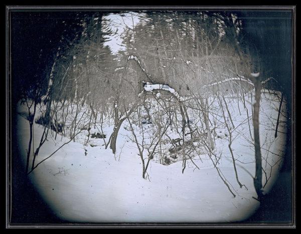 2016年1月31日  猿ヶ森  東通村, ダゲレオタイプ, unique, 19.3 x 25.2 cm ©Takashi Arai