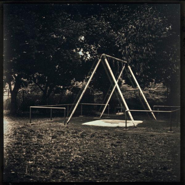 2011年3月10日 等々力緑地 川崎, ダゲレオタイプ, unique, 6.3 x 6.3 cm ©Takashi Arai