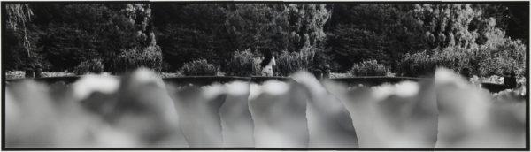夏  2007, Gelatin silver print on watercolor paper with glue, 115×405mm, limited edition #1/1 ©Yoshihiko Ito