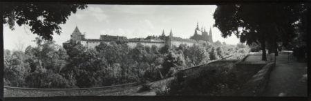 Prague Panorama, ca. 1950-55, gelatin silver print, 120 x 320 mm ©Josef Sudek