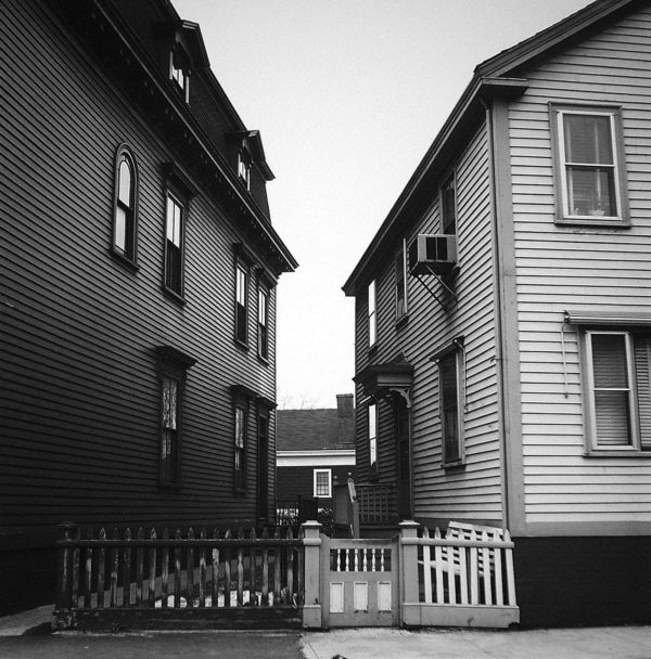 Providence  1963, gelatin silver print, 11 x 12 in, ©The Estate of Harry Callahan