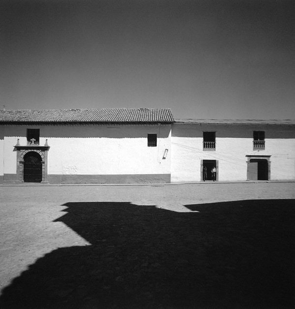 Cuzco, Peru  1974, gelatin silver print, 11 x 14 in, ©The Estate of Harry Callahan