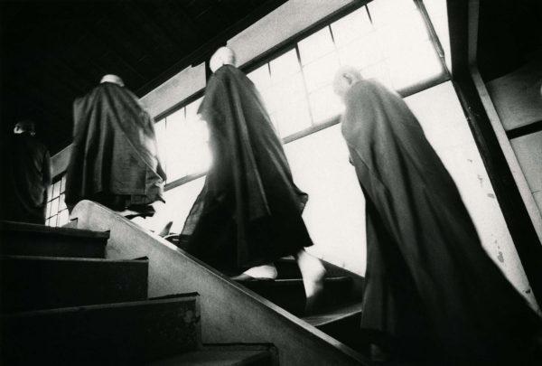 近くて遙かな旅<禅> 1969, gelatin silver print:1969, 11 x 14 in, ©Narahara Ikko Archives