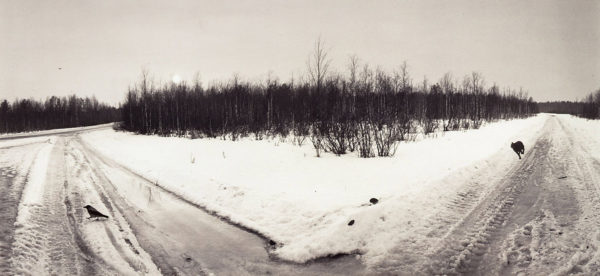 Panajärvi  Karelia  1992, gelatin silver print, 7 1/2 x 10 in, ©Pennti Sammallahti