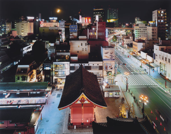 台東区雷門 東京, chromogenic print:2008年, Limited edition of 25, 16 x 20 in ©SATO Shintaro
