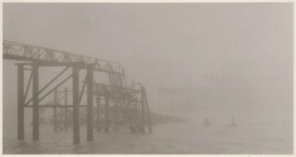 West Pier #2, gelatin silver print, edition of #2/15, 11 x 14 in, ©Tomio Seike