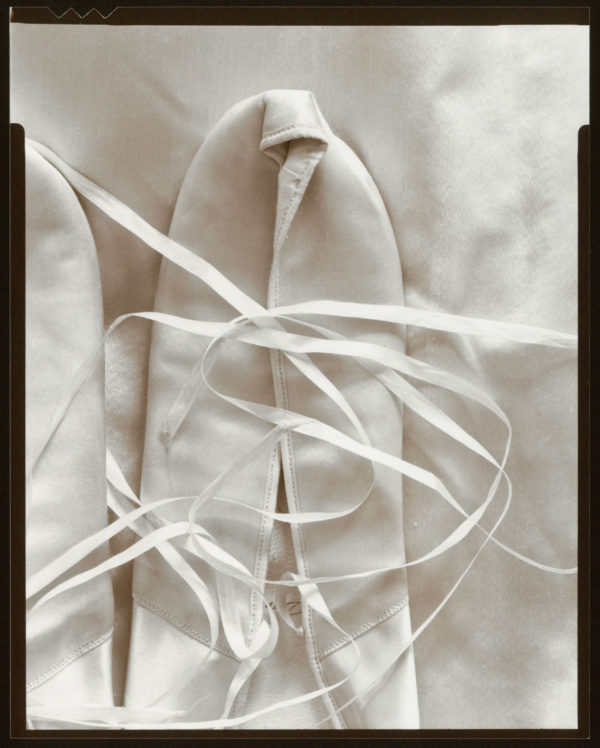 Miss Appleton's Shoes Ⅱ  1976, toned silver print : 1984, edition of 65, 4 x 5 in, ©Olivia Parker