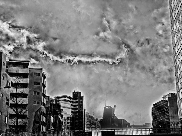 2011.9.11  Tokyo  Chaos Cloud, Pigment inkjet print : 2012, Limited edition of 5, 594x429mm, ©Kikuji Kawada