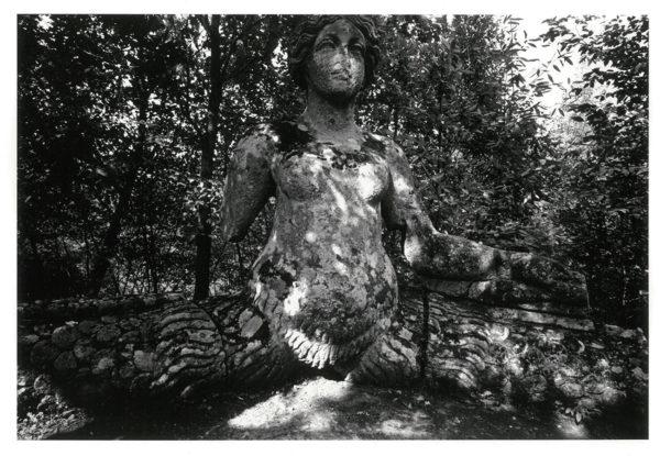 ニンフ ヴィテルボ イタリア 1966, Gelatin silver print : 1969, 203x301mm, ©Kikuji Kawada