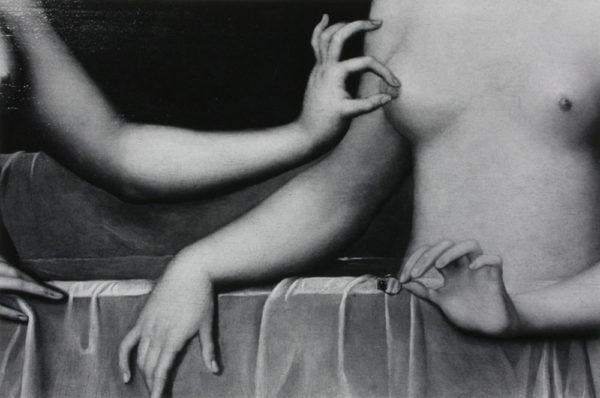 ガブリエル・デストレとその妹, Gelatin silver print : 1980's, 450x299mm  ©Kikuji Kawada<br />