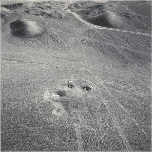 Area10  Looking East  Nevada  1996, gelatin silver print, 16 x 20 in ©Emmet Gowin