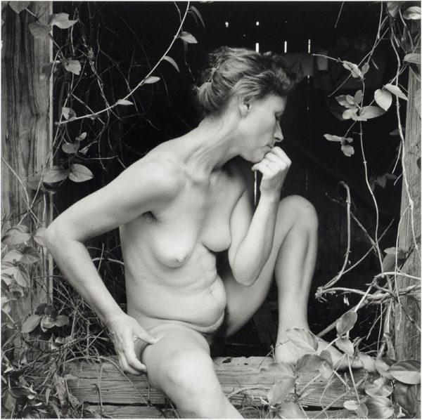 Edith  Danville  Virginia  1983, gelatin silver print, 8 x 10 in ©Emmet Gowin